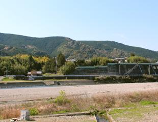市ノ瀬の河岸段丘