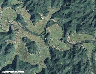 太田川の環流丘陵