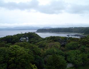 潮岬の海岸段丘