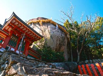 ゴトビキ岩(新宮市)
