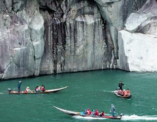 熊野川九里峡