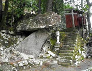 相須神丸の高倉神社跡