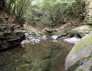 篠尾川渓谷